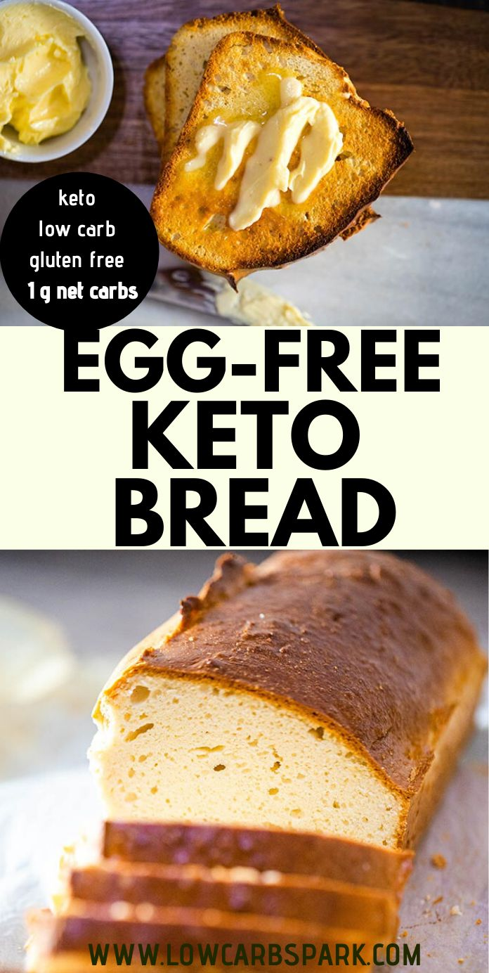 The Best Keto Bread without Eggs