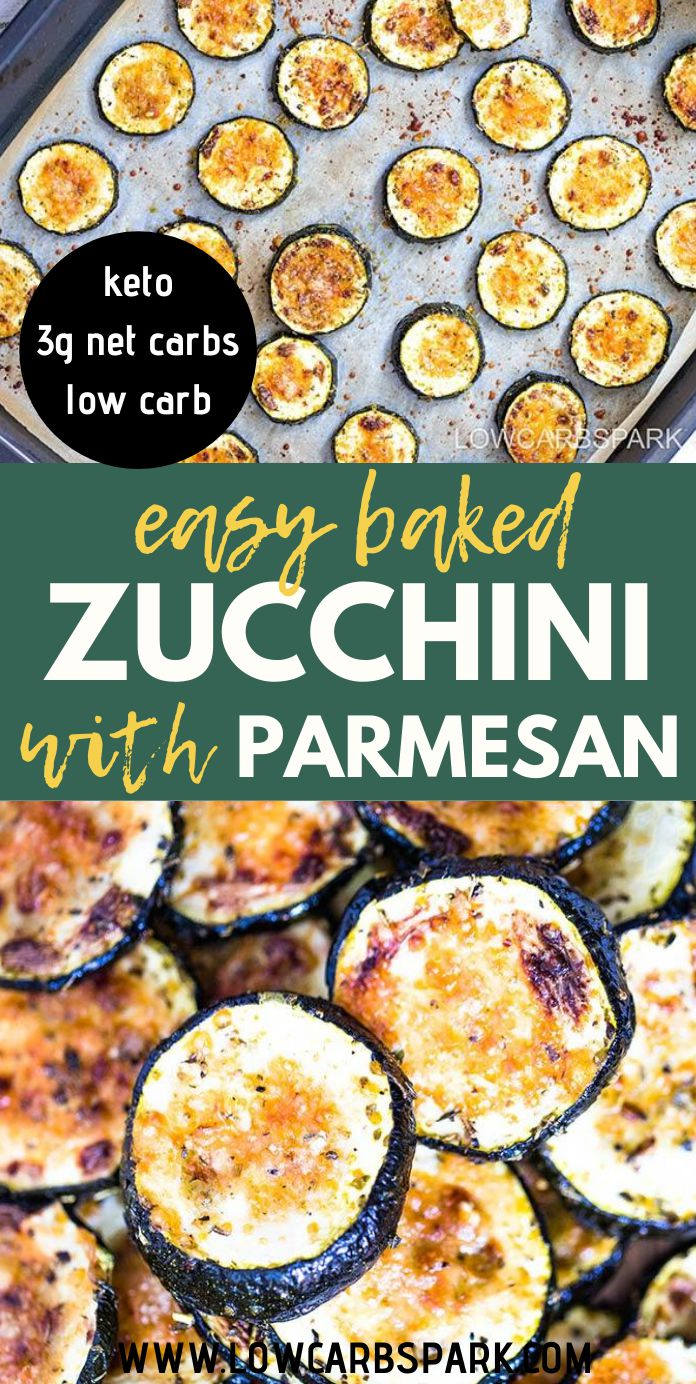 Easy Baked Zucchini with Parmesan