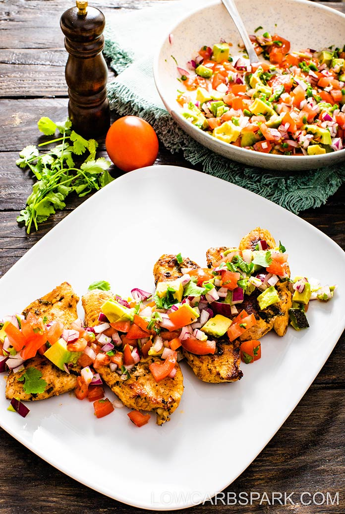 marinate chicken in lime juice