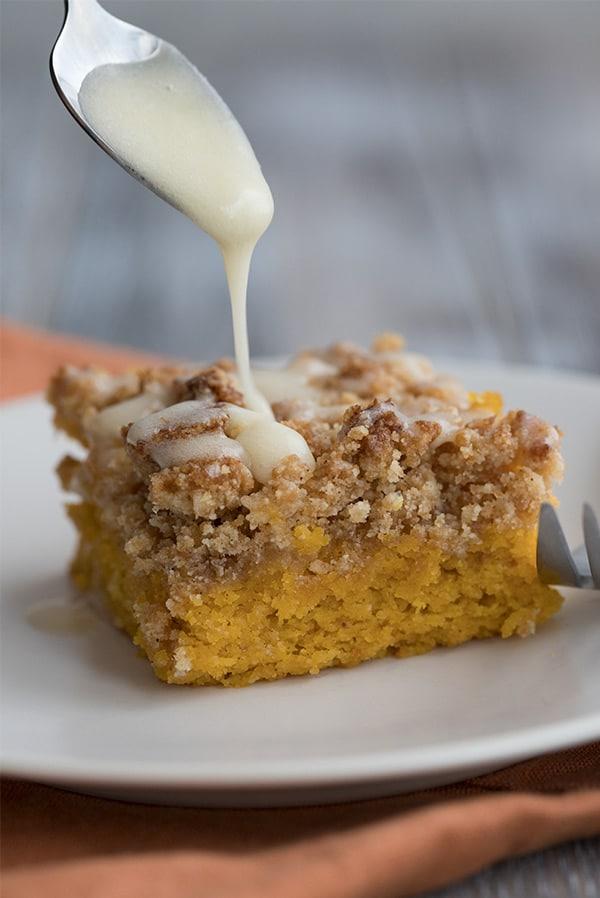 Keto Pumpkin Coffee Cake