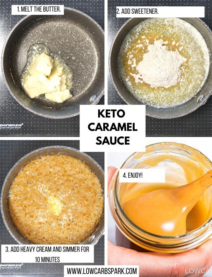 keto caramel sauce instructions
