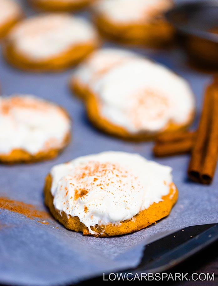 easy recipe for keto pumpkin cookies low carb and keto