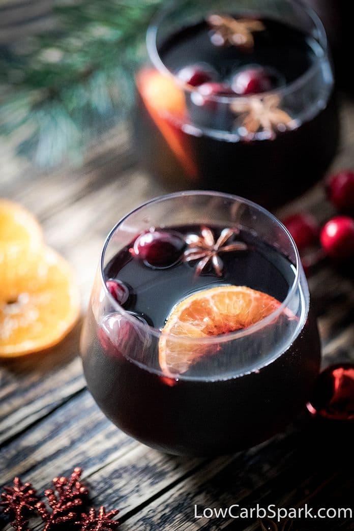best keto mulled wine sugar free drink