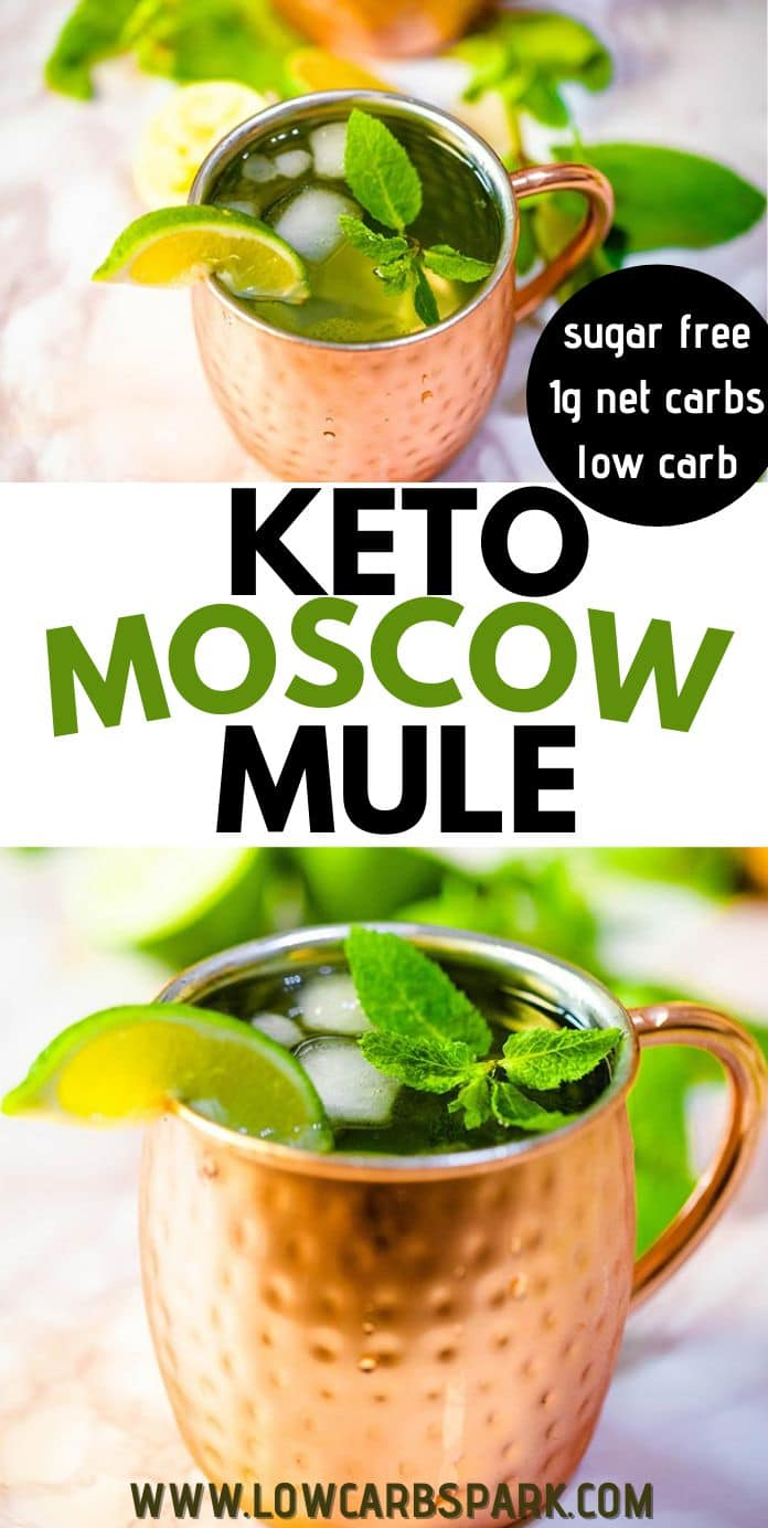 The BEST Keto Moscow Mule Recipe! - Low Carb Cocktail