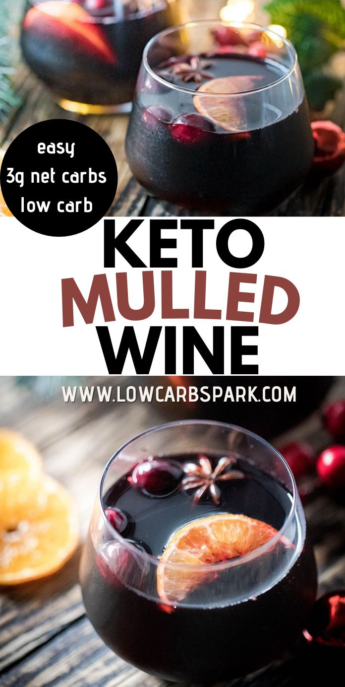 Easy Keto Mulled Wine - How to Make Low Carb Mulled Wine