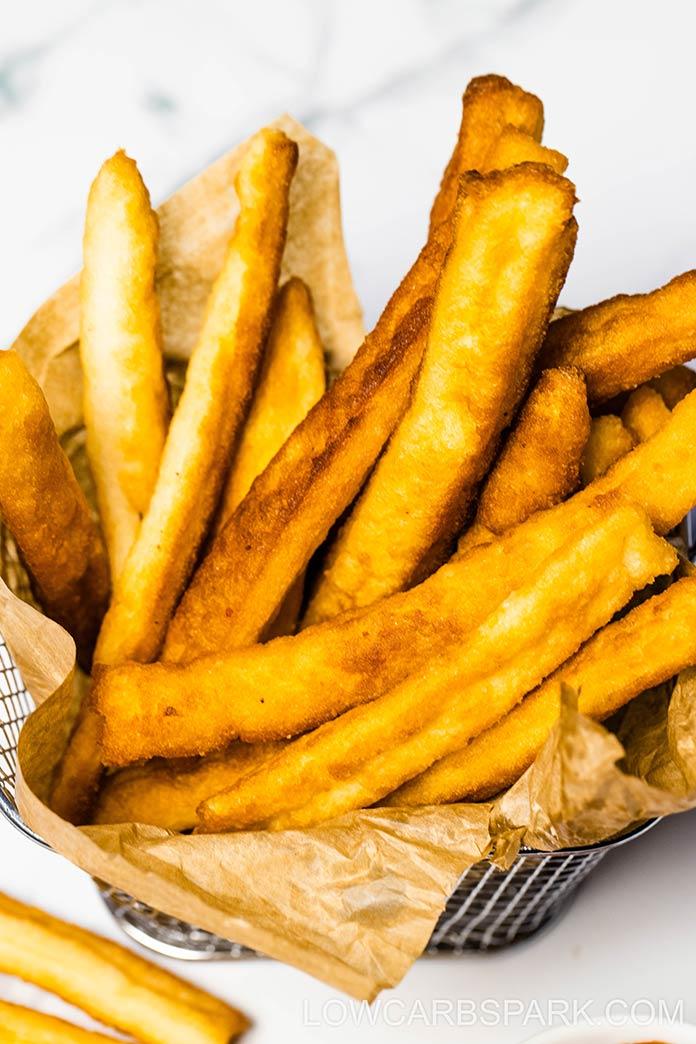 best keto fries recipe