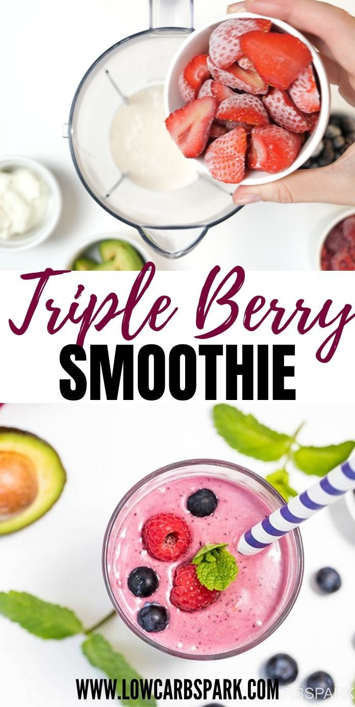 Our Favorite Triple Berry Smoothie