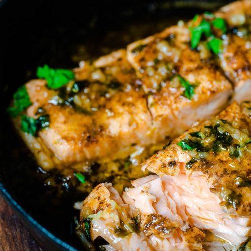 best quick cajun salmon recipe