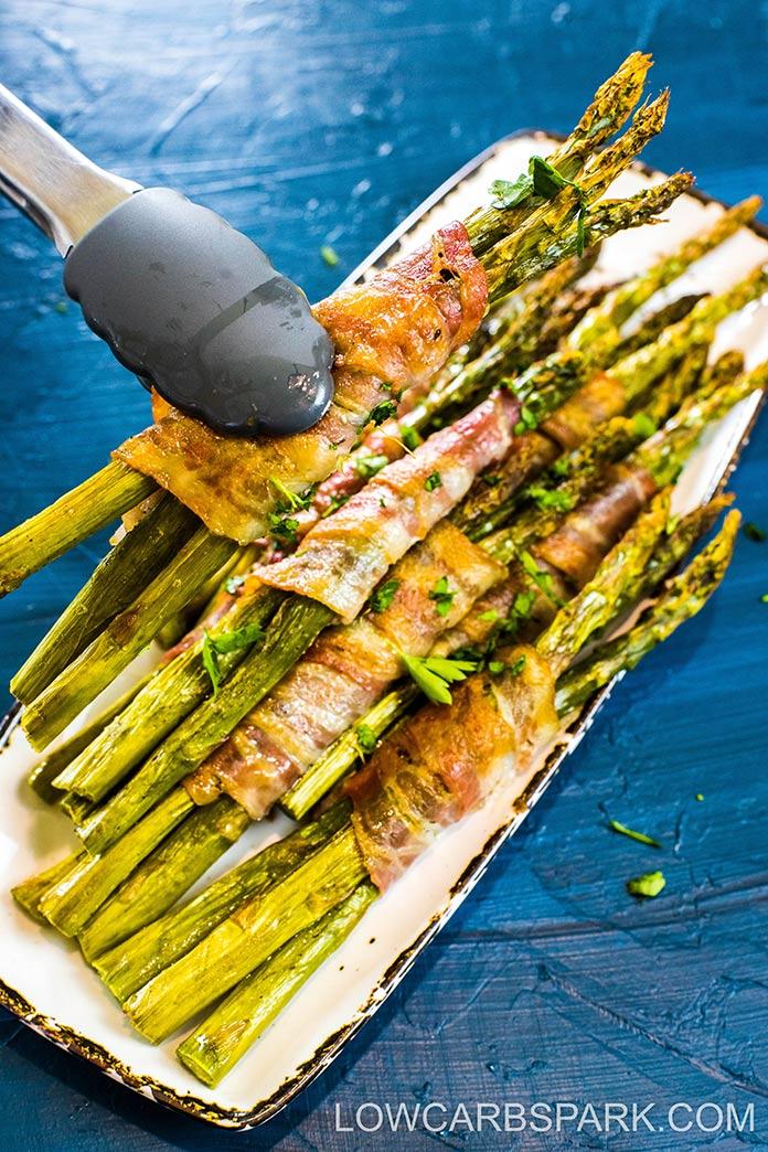 easy wrapped bacon asparagus recipe