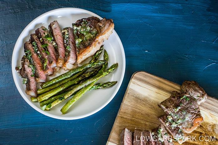 how to serve sirloin steak