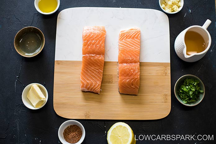 ingredients for cajun salmon