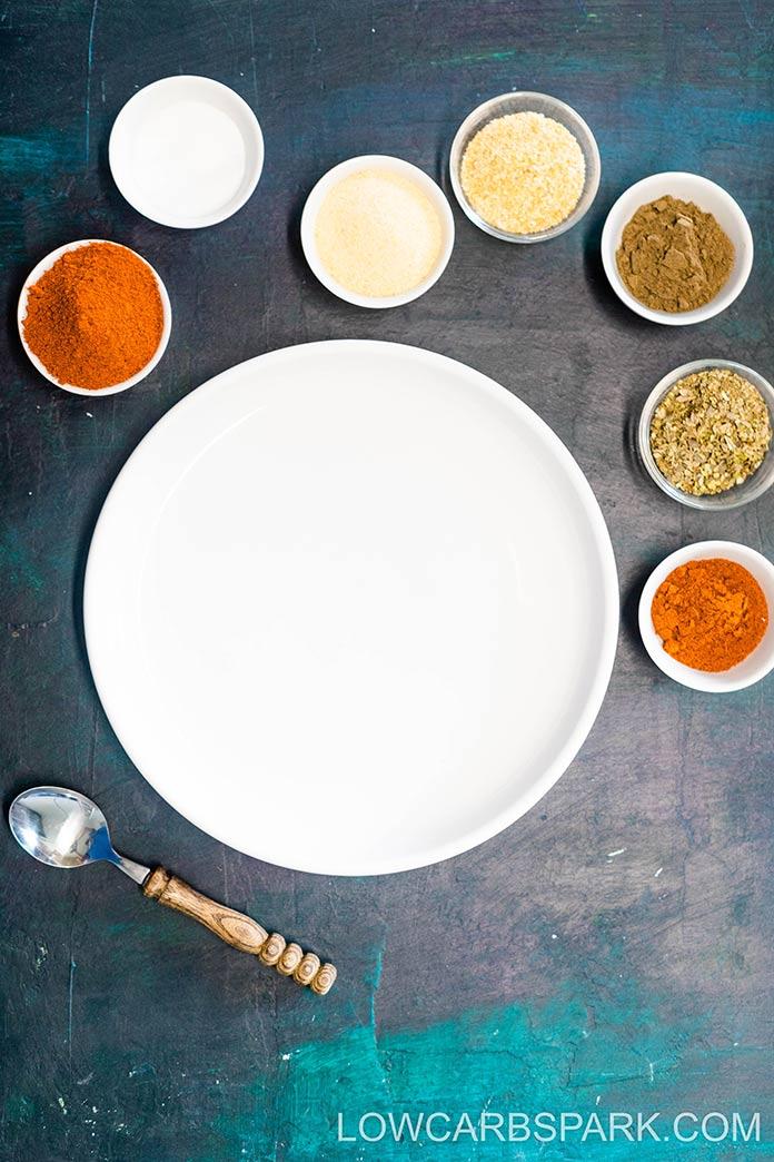 ingredients for cajun seasoning